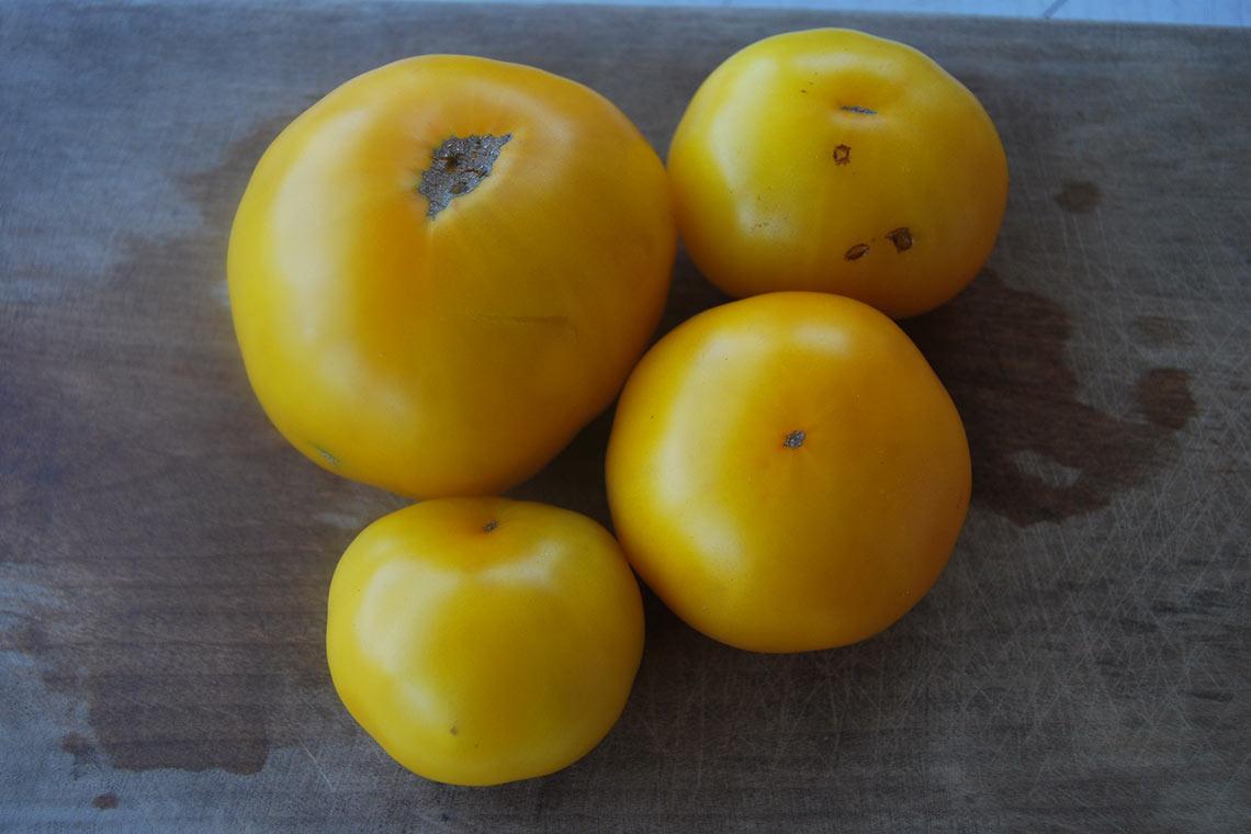 Томат Лимонно-жёлтый