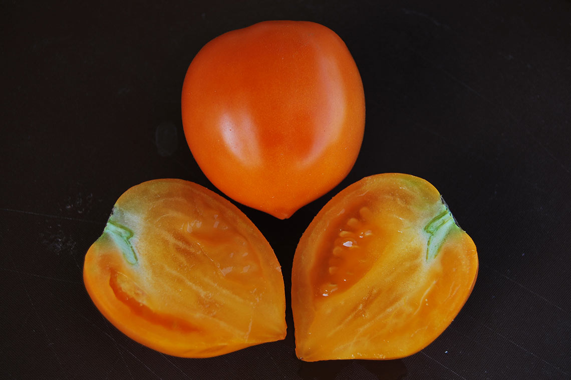 Томат Оранжевый остроносый