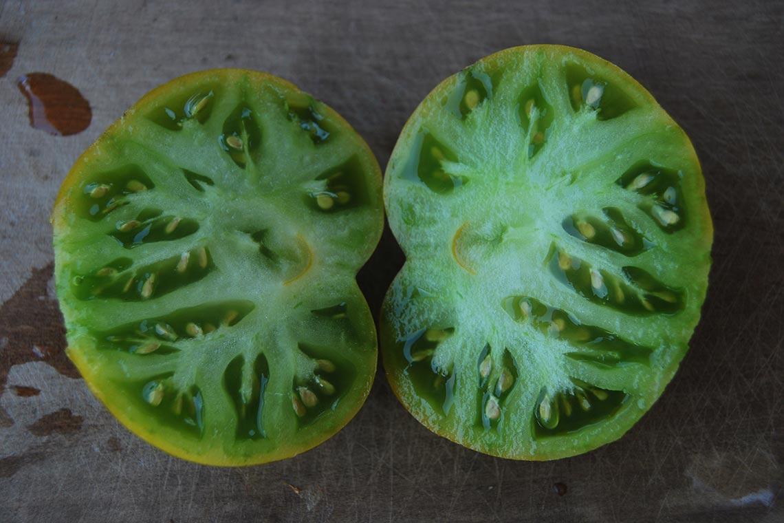 Томат Зелёные копья Теннеси (Spear's Tennessee Green)